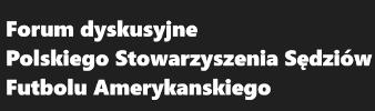 Forum Polskiego Stowarzyszenia Sędziów Futbolu Amerykańskiego